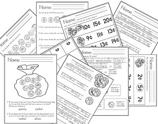 It's All About Money! 70+ Worksheets & 8 Centers