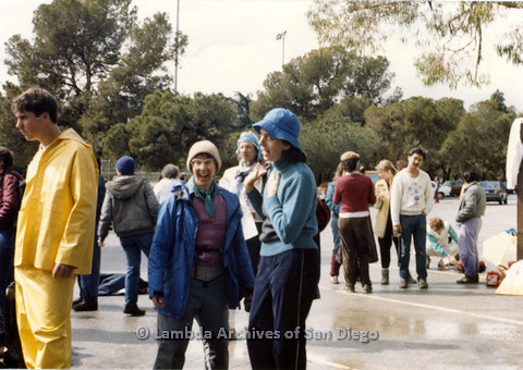 P024.541m.r.t  (left to right) Jo Freedman smiling big and Diane Besemer beside her