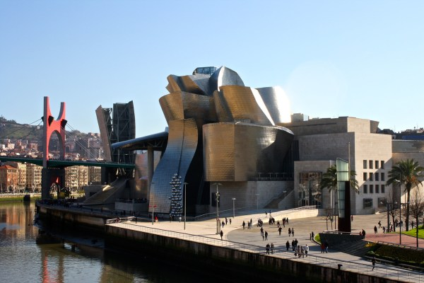 Bilbao Spain Modern Art Museum