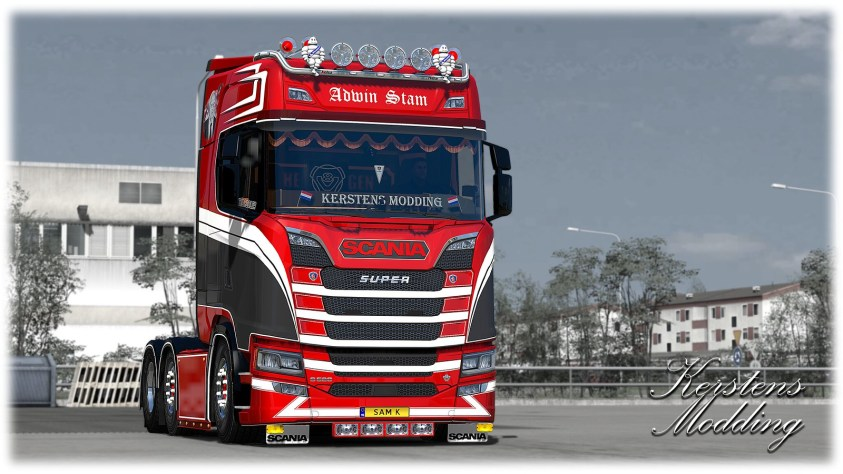 Adwin Stam for Scania S!