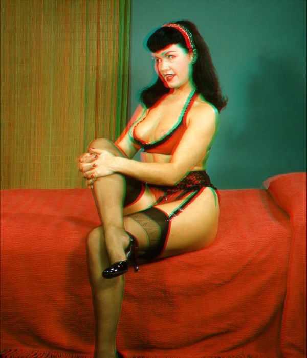 bettie page color # 18