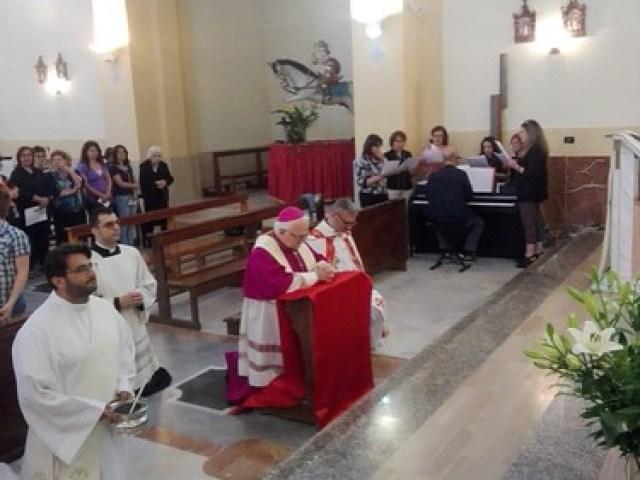 Visita Pastorale Parrocchia S. Procopio M. in San Procopio e Parrocchie S. M. delle Grazie e s. Gregorio M. in Sinopoli
