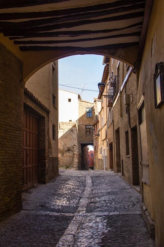 Calle del Conde Barrio Judio Tarazona Zaragoza 02