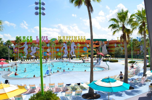 Pop Century Resort - Walt Disney World 2013