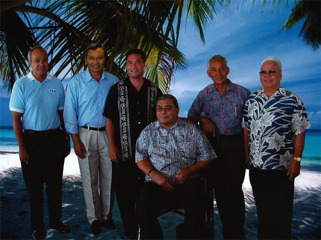 Governor Camacho and CNMI Governors
