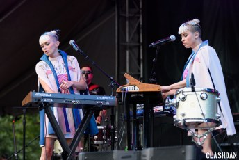Lucius @ Music Midtown Festival in Atlanta GA on September 17th 2016