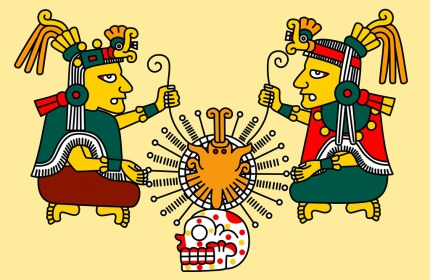 Image result for Ometecuhtli and Omecihuatl