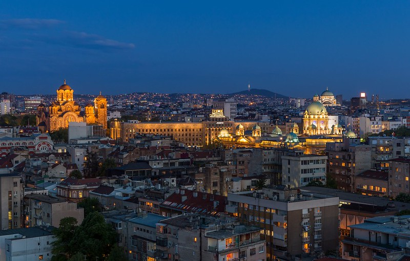 Belgrade Blue Hour