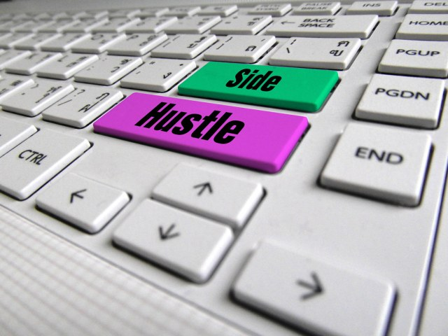 Side Hustle Keyboard Button