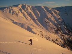 Backcountry skier