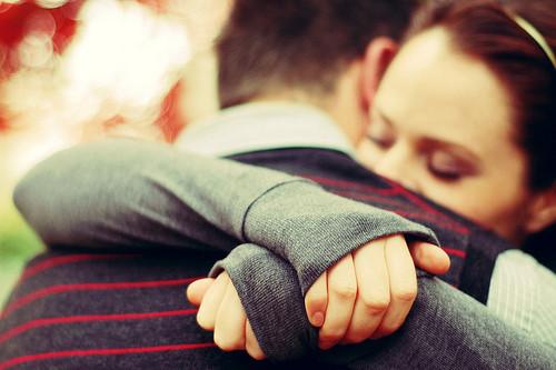 couple love hugging hug