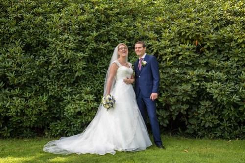 Wedding photoshoot at Clingendael garden