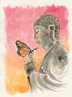 Buddha & Butterfly