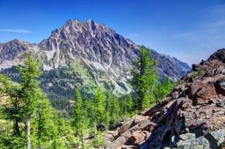 Mt Stuart from Ingalls Pass