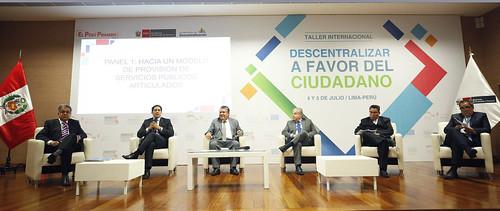 """Segundo día del Taller internacional """"descentralizar a favor del ciudadano"""""""