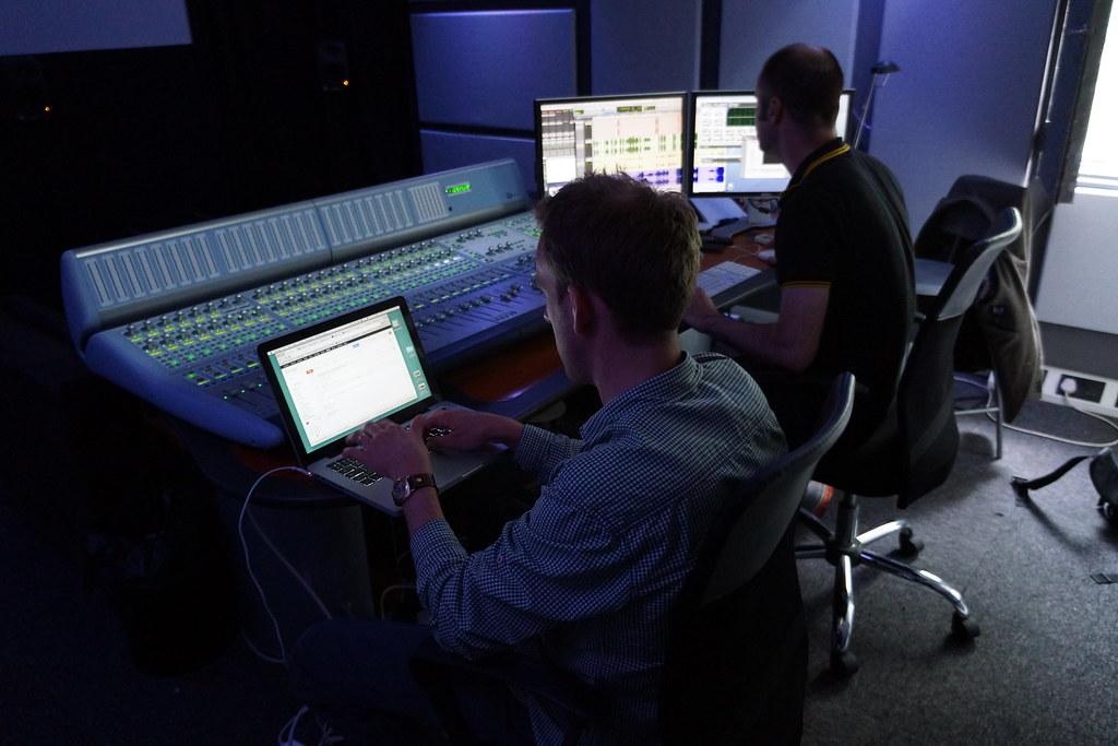Sound mix at Ealing 2
