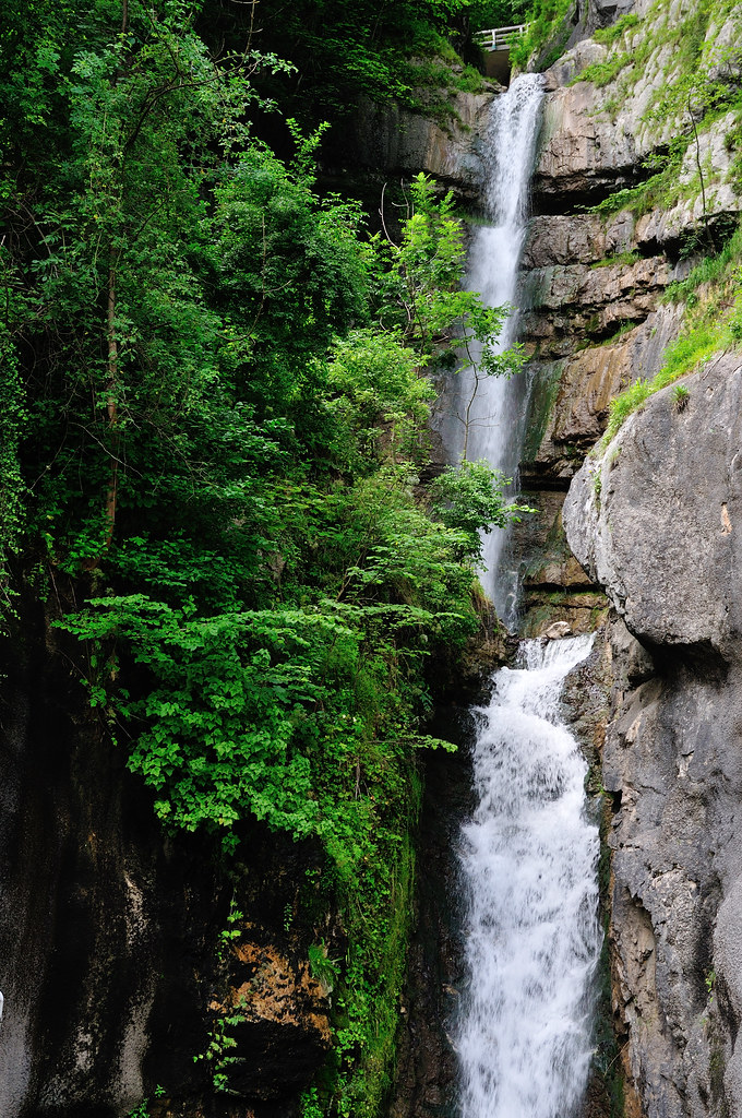 Waldbachstrub Waterfall  As if the UNESCO listed