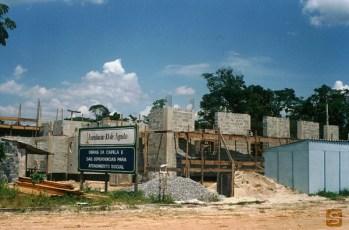 1994 - Obras da Capela Nossa Senhora das Graças