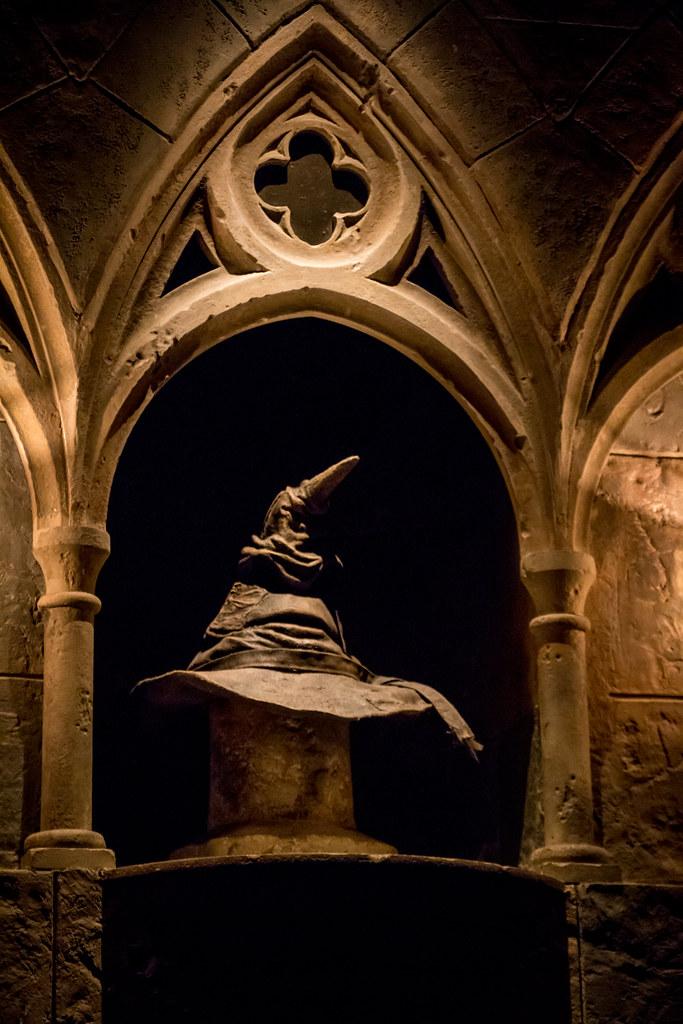 Inside Hogwarts Castle The Sorting Hat Inside The
