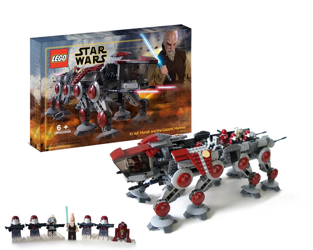 Galactic Marines Under The Leadership Of Jedi General Ki