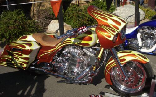 Metric Thunder S Motorcycle Cruiser
