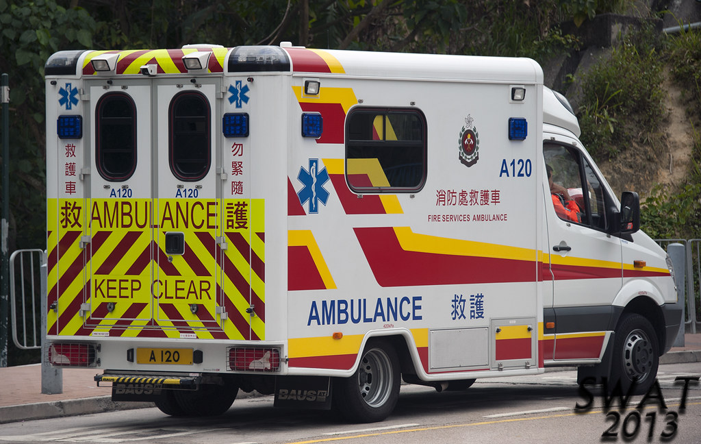 香港消防處 A 120 救護車   HONG KONG FIRE SERVICES DEPARTMENT AMBULAN…   Flickr