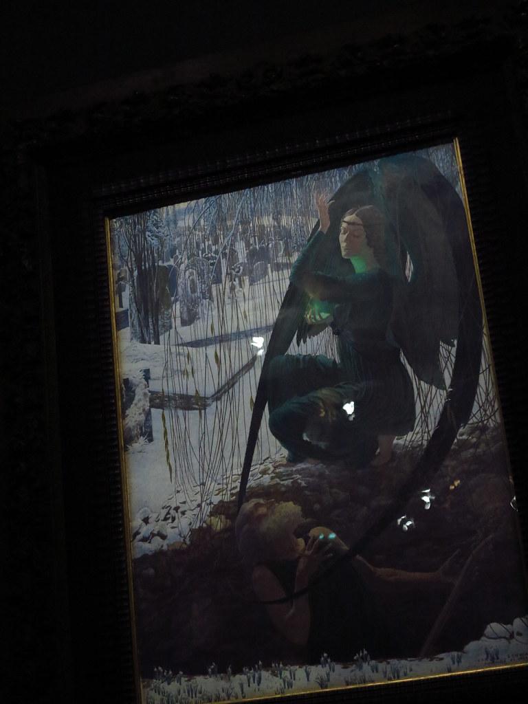 La Mort Et Le Fossoyeur : fossoyeur, Carlos, Schwabe, (1866-1926),, Fossoyeur, Aquare…, Flickr