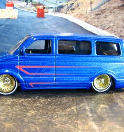 a small scale custom 2001 chevy astro by richie 59 [ 1024 x 768 Pixel ]