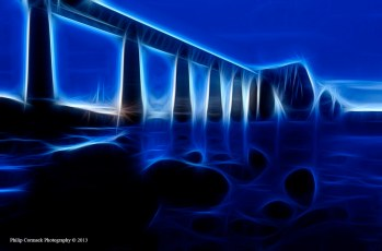 Abstract Vision of The Forth Rail Bridge