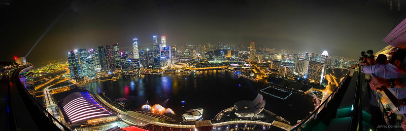 2013-04-11 Singapore - Marina Bay Sands Nighttime Panorama-FullWM