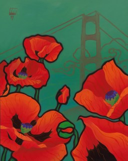 Golden Gate Oriental Poppies
