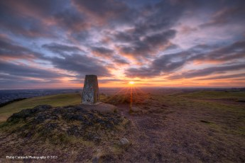 View from Blackford Hill at Sunrise
