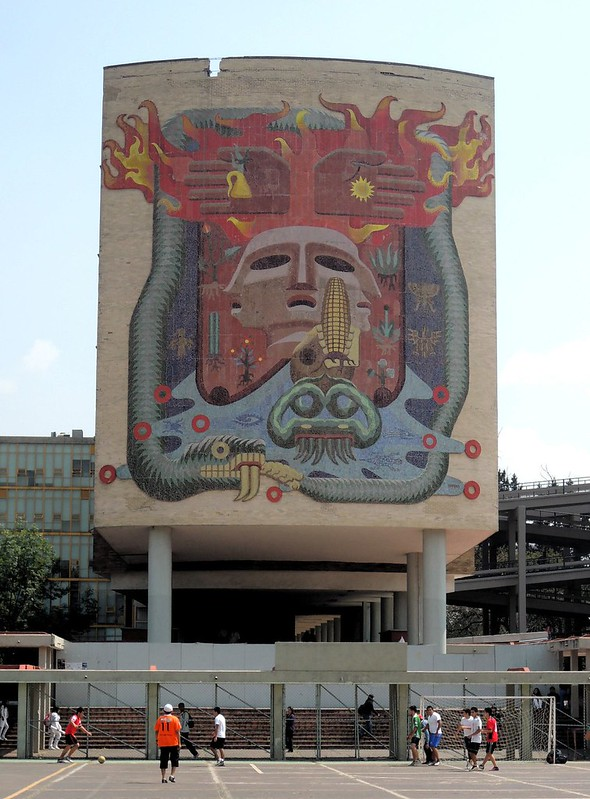 Mural by Francisco Eppens Helguera by bryandkeith on flickr