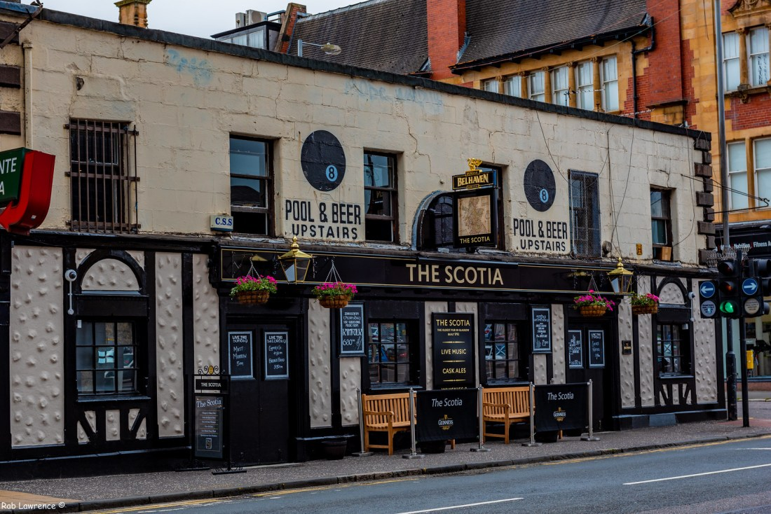 The Scotia Bar is reputed to be the oldest pub in Glasgow. Built in 1792 it played host to the merchant sailors bringing goods to Glasgow.