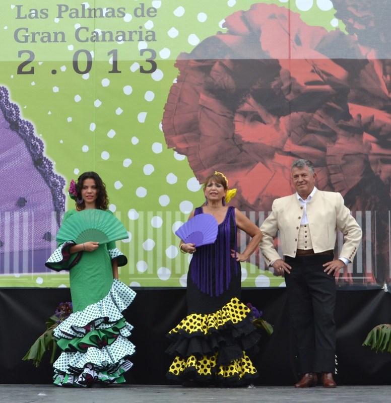 Estudio Flamenco Amparo Navarro Pasarela Andaluza VI Feria Abril 2013 Las Palmas de Gran Canaria DSC_0135