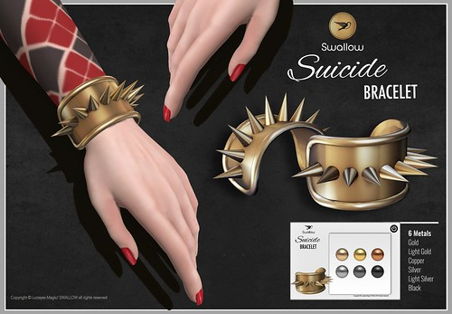 ^^Swallow^^ Suicide Bracelet - GROUP GIFT