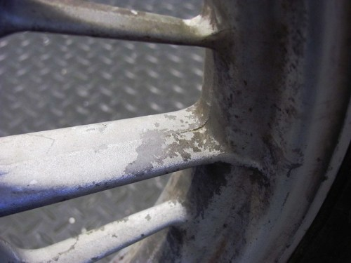 Front Wheel Corrosion