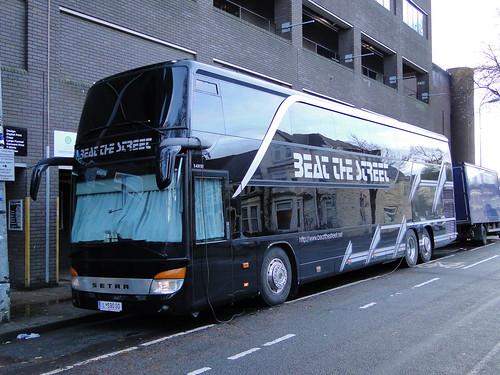 The Kooks Tour 2014 Beat The Street Tour Bus