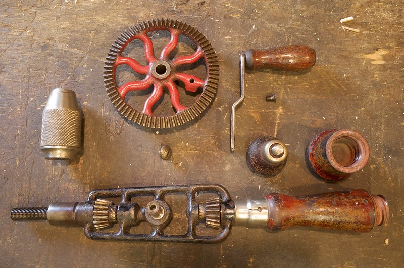 Millers Falls No.2 1938 - 1957 (dismantled)