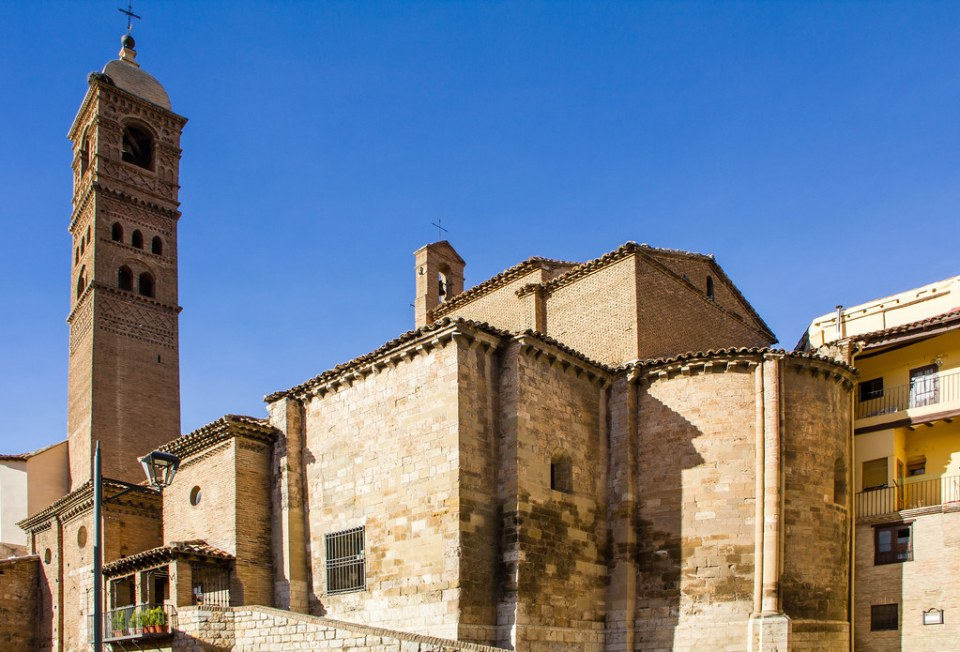vista exterior Iglesia Santa Mª Magdalena Tarazona Zaragoza 03
