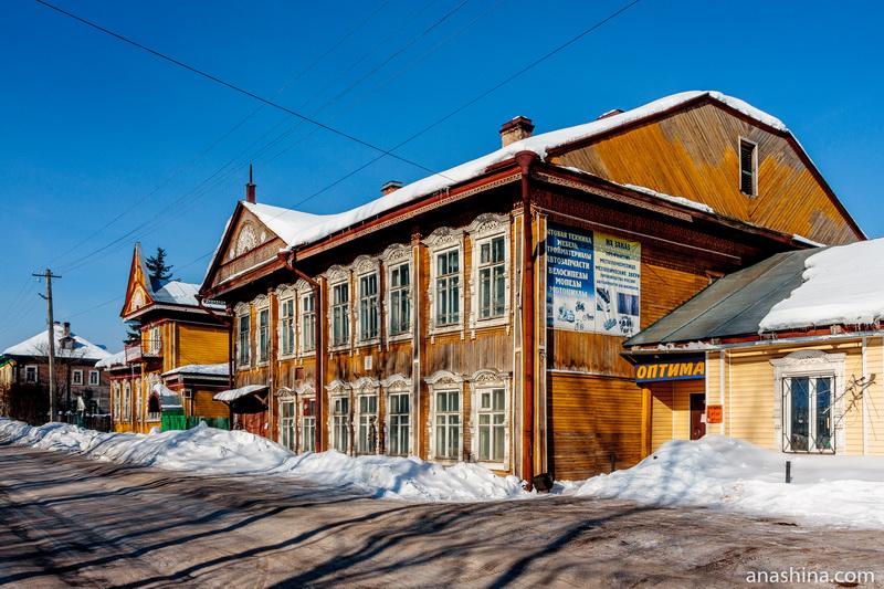 Старинные дома купцов братьев Собенниковых, Солигалич