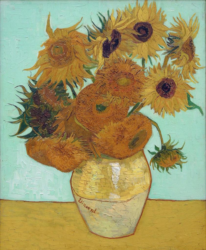 Les Tournesols De Van Gogh : tournesols, Douze, Tournesols, 1561), Flickr