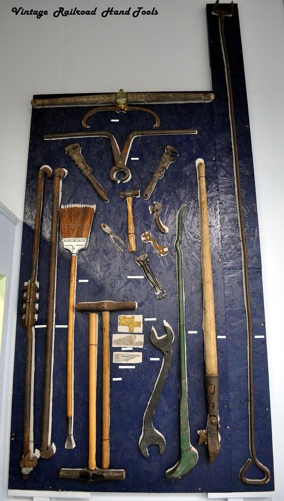 Antique Railroad Tools