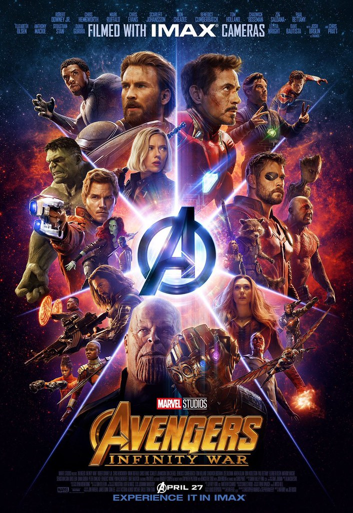 New Avengers Infinity War Imax Poster Check Out This