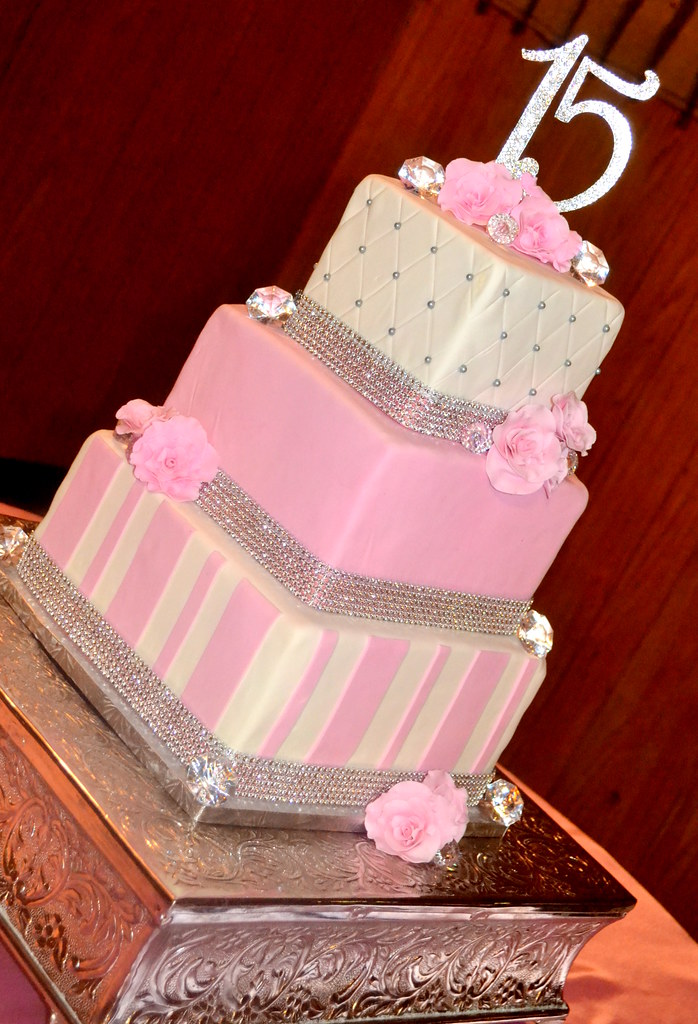 Quinceanera Cake Simply Sweet Creations Flickr
