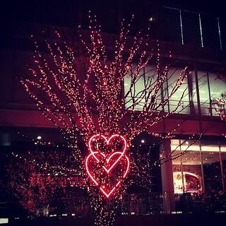 想逼死誰的聖誕節愛心! #六本木 #roppongi #けやき坂 #tokyotower ...