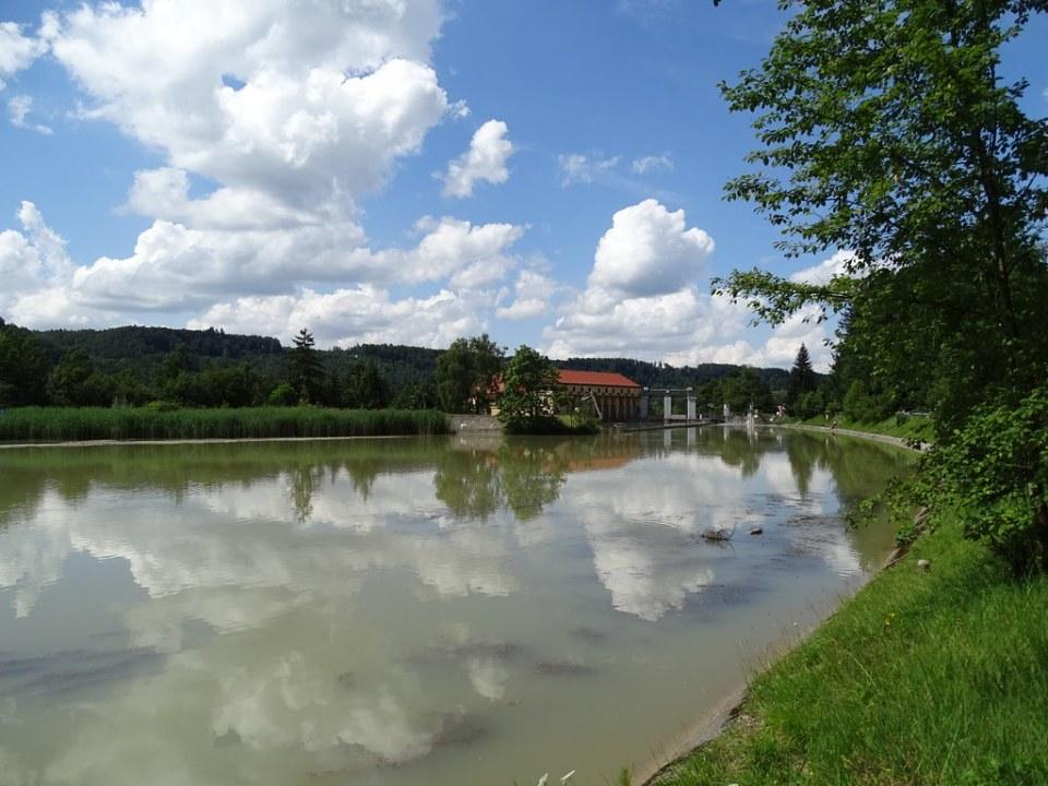 senderismo Rio Isar ruta Höllriegelskreuth Kloster Schäftlarn Ruta Romántica de Baviera Alemania 12