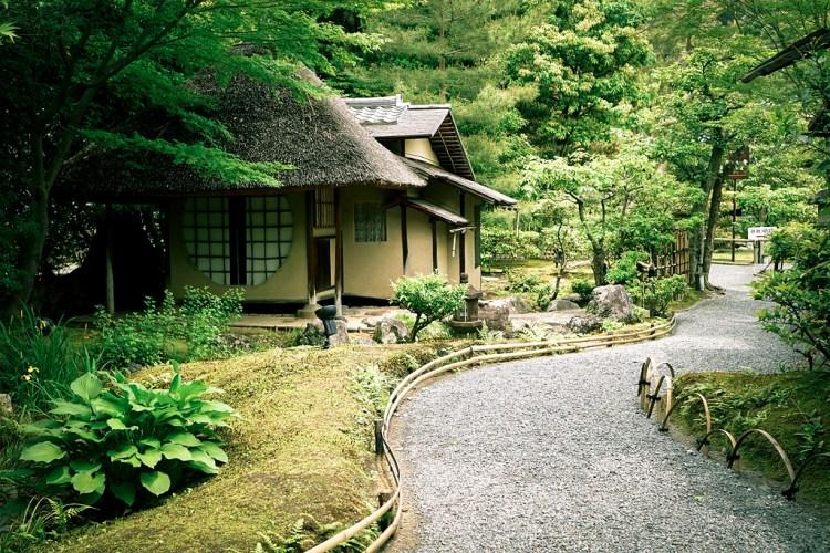 Ihoan (遺芳庵), a teahouse in Kodai-ji Temple (高台寺) in Kyoto (京都) Japan