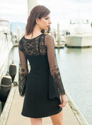 Burning Man Dress in Lace