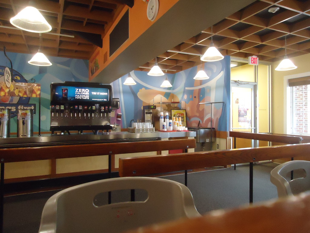 Golden Corral interior | The interior of the now-closed ...